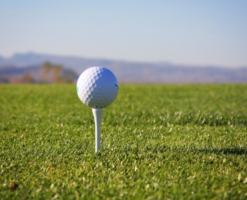 PVC packaging is recycled into golf balls
